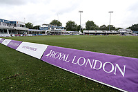 General view of the ground during Essex Eagles vs Yorkshire Vikings, Royal London One-Day Cup Play-Off Cricket at The Cloudfm County Ground on 14th June 2018