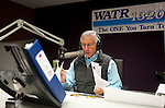 WATERBURY,  CT-122916JS01--WATR's Larry Rifkin prepares for his show at the radio station on Thursday. Rifkin, who has hosted &quot;Talk of the Town&quot; for seven years, will be stepping away from the show. He will still be at WATR. <br /> Jim Shannon Republican-American