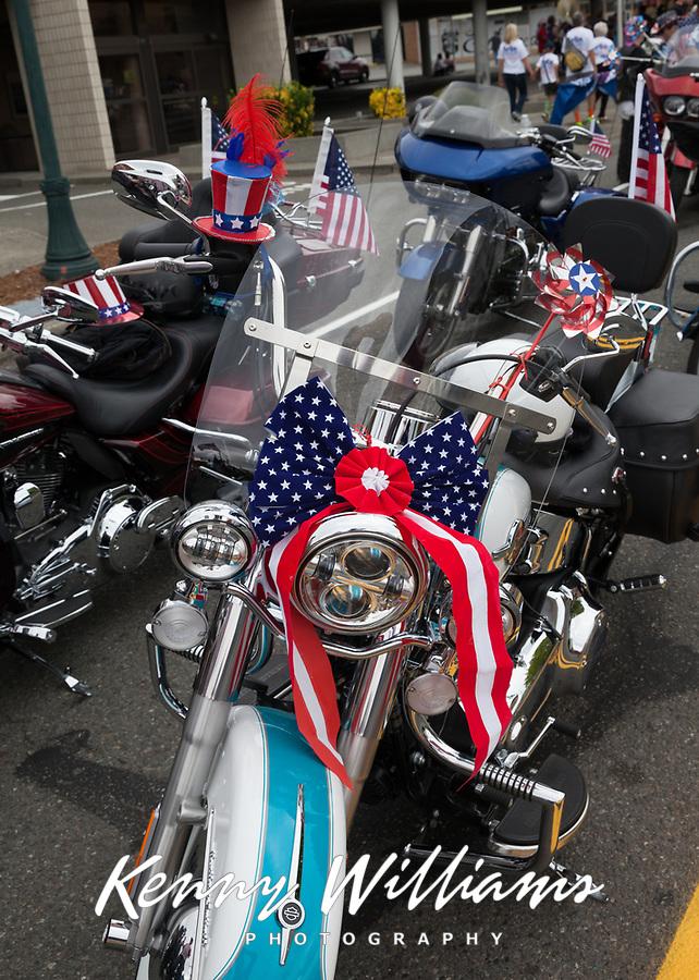 Independence Day Parade 2016, Burien, Washington, USA.