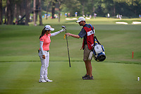Wei-Ling Hsu (TPE) after her tee shot on 10 during round 4 of the U.S. Women's Open Championship, Shoal Creek Country Club, at Birmingham, Alabama, USA. 6/3/2018.<br /> Picture: Golffile | Ken Murray<br /> <br /> All photo usage must carry mandatory copyright credit (&copy; Golffile | Ken Murray)