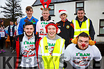 Pictured at the Reindeer Run in Caherdaniel on the 23rd December were front l-r; Morgan O'Donoghue, Michael Galvin, Keviin O'Sullivan, back l-r; Rory Galvin, David McGillicuddy, Iarla O'Shea & Anthony Casey.