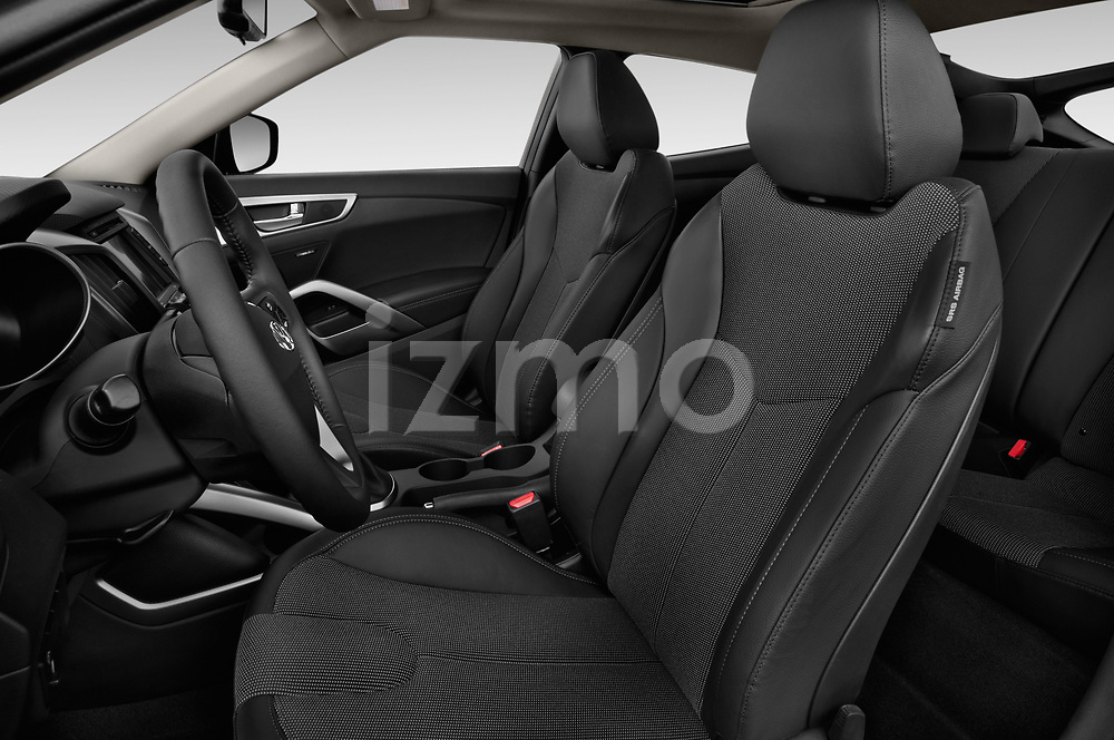 Front seat view of 2017 Hyundai Veloster Manual 5 Door Hatchback Front Seat  car photos