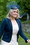 """LADY KITTY SPENCER.attends the wedding of her cousin Emily McCorquodale to James Hutt at  the Church of St Andrew & St Mary, Stoke Rochford, Lincolnshire.Emily is the daughter of Princess Diana' sister Sarah McCorquodale_09/06/2012.Mandatory Credit Photo: ©NEWSPIX INTERNATIONAL..**ALL FEES PAYABLE TO: """"NEWSPIX INTERNATIONAL""""**..IMMEDIATE CONFIRMATION OF USAGE REQUIRED:.Newspix International, 31 Chinnery Hill, Bishop's Stortford, ENGLAND CM23 3PS.Tel:+441279 324672  ; Fax: +441279656877.Mobile:  07775681153.e-mail: info@newspixinternational.co.uk"""