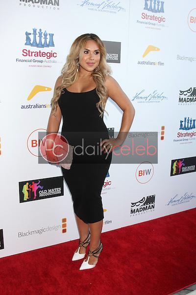 "Kristinia DeBarge<br /> at the ""That Sugar Film"" Premiere, Harmony Gold, Los Angeles, 07-20-15<br /> David Edwards/DailyCeleb.com 818-249-4998"