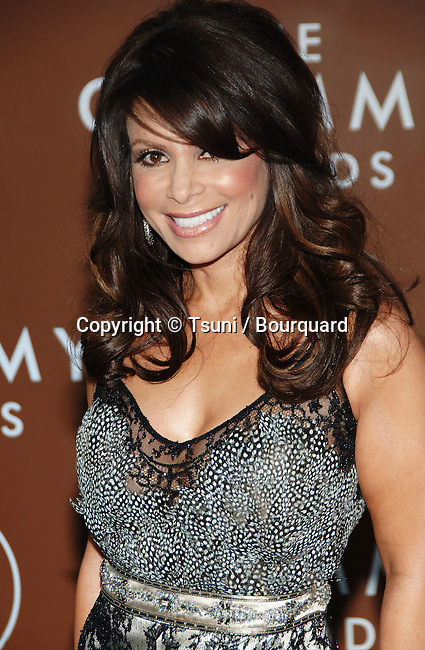 Paula Abdul arriving at the 48th Grammy Awards at the  Staples Center In Los Angeles, Wednesday February 8, 2006