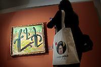 Un quadro di Diego Rivera<br /> Roma 18-03-2014 Scuderie del Quirinale. Inaugurazione vernissage della mostra dedicata a Frida Kahlo.<br /> Opening of the exhibition of Frida Kahlo.<br /> Photo Samantha Zucchi Insidefoto