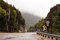 The Crawford Notch State Park is seen in New Hampshire Wednesday June 12, 2013. Located on U.S. Highway 302, in northern New Hampshire, the park occupies the center of Crawford Notch, a major pass through the White Mountains.