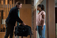 BREAKING IN (2018)<br /> BILLY BURKE, GABRIELLE UNION <br /> *Filmstill - Editorial Use Only*<br /> CAP/FB<br /> Image supplied by Capital Pictures