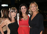 BEVERLY HILLS, CA - April 20: Cynthia Rothrock, Gina Carano, Zoe Bell, At Artemis Women in Action Film Festival - Opening Night Gala_Inside At The Ahrya Fine Arts Theatre In California on April 20, 2017. Credit: FS/MediaPunch