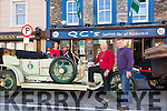 Pictured at the Rolls Royce Silver Ghost Assoc. tour of Ireland in Cahersiveen on Tuesday were Kate Cooke, Ronda Stryker(USA), Bill Johnston(USA Owner) & Andrew Cooke, pictured here in and alongside Bill's 1911 Rolls Royce Silver Ghost.