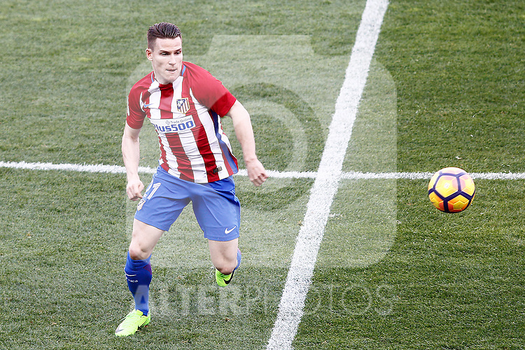 Atletico de Madrid's Kevin Gameiro during La Liga match. February 26,2017. (ALTERPHOTOS/Acero)