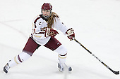 Lexi Bender (BC - 21) - The Boston College Eagles defeated the visiting Cornell University Big Red 4-3 (OT) on Sunday, January 11, 2012, at Kelley Rink in Conte Forum in Chestnut Hill, Massachusetts.