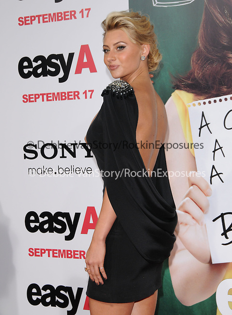 """Aly Michalka at the Screen Gems' L.A. Premiere of """"Easy A"""" held at The Grauman's Chinese Theatre in Hollywood, California on September 13,2010                                                                               © 2010 Hollywood Press Agency"""