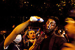 ISTANBUL, TURKEY: A man has milk poured in his eyes to reduce the effect of tear gas fired by police during protests around Istanbul's Taksim square which has been the focus of recent anti-government protests.<br /> <br /> Protests that began nearly three weeks ago to try and protect an Istanbul park from redevelopment have spread across Turkey and become an expression of wider discontent with the government of Prime Minister Recep Tayyip Erdogan.<br /> <br /> Photo by Kamaran Najm/Metrography