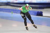 SCHAATSEN: HEERENVEEN: IJsstadion Thialf, 16-11-2012, Essent ISU World Cup, Season 2012-2013, Men 5000 meter Division B, Vitaly Mikhaylov (BLR), ©foto Martin de Jong