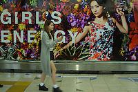 Fashion advert in Tokyo Japan