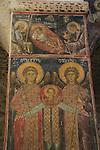 Israel, Jerusalem, frescos ot the Greek Orthodox Church of the Holy Cross
