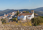 Historic medieval village of Marvão, Portalegre district, Alto Alentejo, Portugal, Southern Europe
