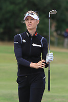 Nelly Korda (USA) on the 3rd fairway during Round 3 of the Ricoh Women's British Open at Royal Lytham &amp; St. Annes on Saturday 4th August 2018.<br /> Picture:  Thos Caffrey / Golffile<br /> <br /> All photo usage must carry mandatory copyright credit (&copy; Golffile | Thos Caffrey)