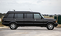 BNPS.co.uk (01202 558833)<br /> Pic: Silverstone/BNPS<br />  <br /> Long Range Rover...<br /> <br /> A unique stretched Range Rover that was first owned by the Sultan of Brunei and later used to ferry Mike Tyson around has emerged for sale for £25,000.<br /> <br /> The 1994 Range Rover Classic LSE was turned into a limousine version by a specialist firm with the work commissioned by the then owner, the Sultan of Brunei.<br /> <br /> The monarch ordered the unique motor for his younger brother, Prince Jefri, with the work costing a whopping £135,000.<br /> <br /> The huge rear cabin had three large and luxurious seats and two TV sets.<br /> <br /> In 2000 boxer Mike Tyson was driven in it around Glasgow before fight with Lou Savarese at Hampden Park.