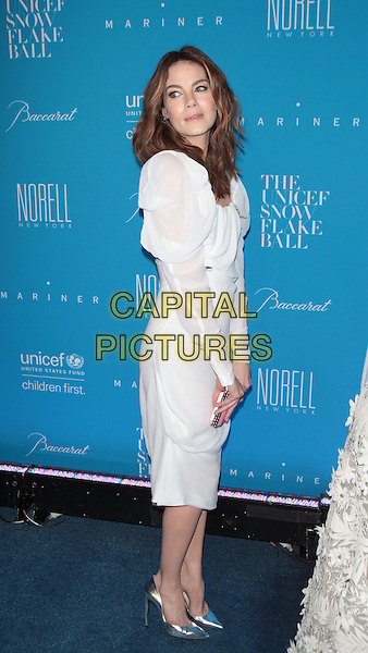 NEW YORK, NY - DECEMBER 1: Michelle Monaghan at the 11th Annual UNICEF Snowflake Ball at Cipriani, Wall Street on December 1, 2015 in New York City.  <br /> CAP/MPI99<br /> &copy;MPI99/Capital Pictures