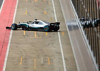 The Mercedes-AMG F1 W09 EQ Power+ during the Mercedes-AMG F1 W09 EQ Power+ 2018 F1 Car Launch at Silverstone, England on 22 February 2018. Photo by Vince  Mignott.