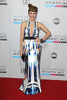 LOS ANGELES, CA - NOVEMBER 18: Amy Heidemann at the 40th American Music Awards held at Nokia Theatre L.A. Live on November 18, 2012 in Los Angeles, California. Credit: mpi20/MediaPunch Inc. NortePhoto