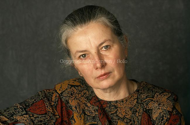German writer Helga Schutz.