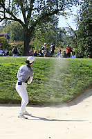 Minjee Lee (AUS) chips from a bunker at the 6th green during Thursday's Round 1 of The Evian Championship 2018, held at the Evian Resort Golf Club, Evian-les-Bains, France. 13th September 2018.<br /> Picture: Eoin Clarke | Golffile<br /> <br /> <br /> All photos usage must carry mandatory copyright credit (&copy; Golffile | Eoin Clarke)