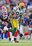 5 November 2006: Green Bay Packers rookie wide receiver Greg Jennings (85) in action against the Buffalo Bills at Ralph Wilson Stadium in Orchard Park, NY. The Bills defeated the Packers 24-10. Mandatory Photo Credit: Ed Wolfstein Photo.<br />