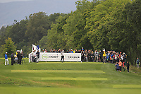 Oscar Lengden (SWE) on the 5th tee during Round 3 of the D+D Real Czech Masters at the Albatross Golf Resort, Prague, Czech Rep. 02/09/2017<br /> Picture: Golffile | Thos Caffrey<br /> <br /> <br /> All photo usage must carry mandatory copyright credit     (&copy; Golffile | Thos Caffrey)