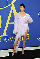 BROOKLYN, NY - JUNE 4: Kendall Jenner at the 2018 CFDA Fashion Awards at the Brooklyn Museum in New York City on June 4, 2018. <br /> CAP/MPI/JP<br /> &copy;JP/MPI/Capital Pictures