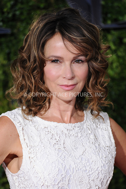 WWW.ACEPIXS.COM<br /> <br /> June 7 2015, New York City<br /> <br /> Jennifer Grey arriving at the 2015 Tony Awards at Radio City Music Hall on June 7, 2015 in New York City<br /> <br /> By Line: Kristin Callahan/ACE Pictures<br /> <br /> <br /> ACE Pictures, Inc.<br /> tel: 646 769 0430<br /> Email: info@acepixs.com<br /> www.acepixs.com
