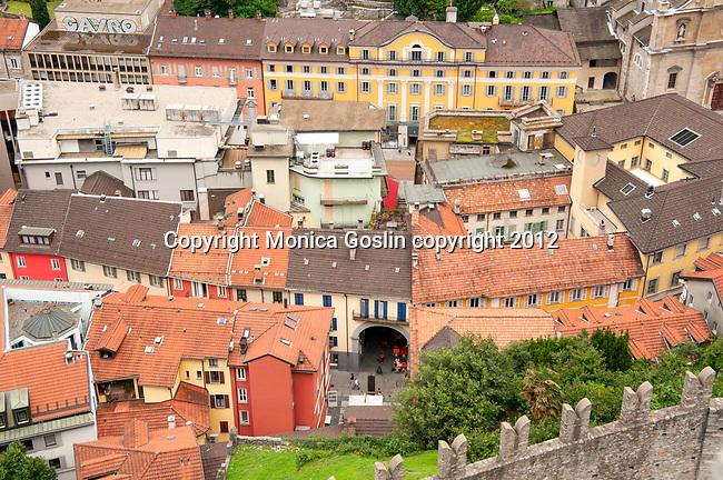 Downtown Bellinzona, Switzerland