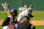 24 April 2007: Dartmouth College Big Green pitcher Bobby Steinsdoerfer, a Senior from Crystal Lake, IL, on the mound against the University of Vermont Catamounts at Historic Centennial Field, in Burlington, Vermont...Mandatory Photo Credit: Ed Wolfstein Photo