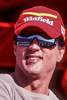 Sylvester Stallone, Marlboro Grand Prix of Miami, CART race, March 26, 2000.  (Photo by Brian Cleary/bcpix.com)