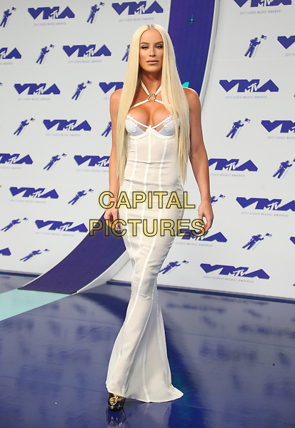 INGLEWOOD, CA - August 27: Gigi Gorgeous, At 2017 MTV Video Music Awards At The Forum In California on August 27, 2017. <br /> CAP/MPI/FS<br /> &copy;FS/MPI/Capital Pictures
