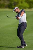 Joost Luiten (NLD) watches his approach shot on 2 during day 2 of the Valero Texas Open, at the TPC San Antonio Oaks Course, San Antonio, Texas, USA. 4/5/2019.<br /> Picture: Golffile | Ken Murray<br /> <br /> <br /> All photo usage must carry mandatory copyright credit (© Golffile | Ken Murray)