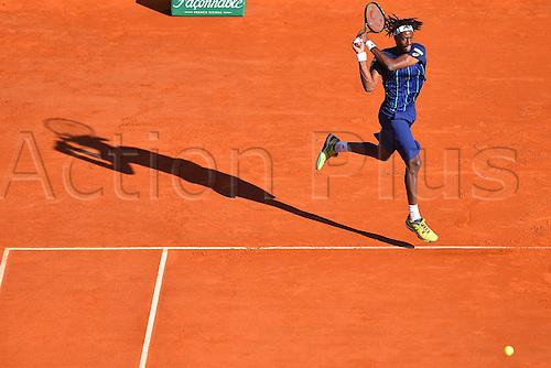 13.04.2016. Monte Carlo, Monaco. Monte Carlo ATP Tennis championships.  Gael Monfils (fra) beats Lorenzi (Ita) in 2 rounds