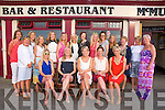 Hen Party : Hilary Chapple, Clonakilty on her hen party with friends at McMunn's Bar & Restaurant, Ballybunion on Saturday night last