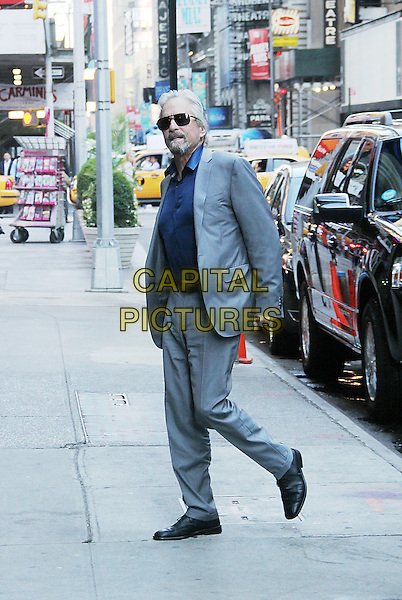 NEW YORK, NY - JULY 9: Michael Douglas at Good Morning America promoting his new movie 'And So It Goes' on July 9, 2014 in New York City.<br /> CAP/MPI/RW<br /> &copy;RW/MPI/Capital Pictures