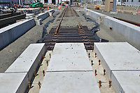 Work Progress May 16 2013 | New Haven Rail Yard New Independent Wheel True Facility