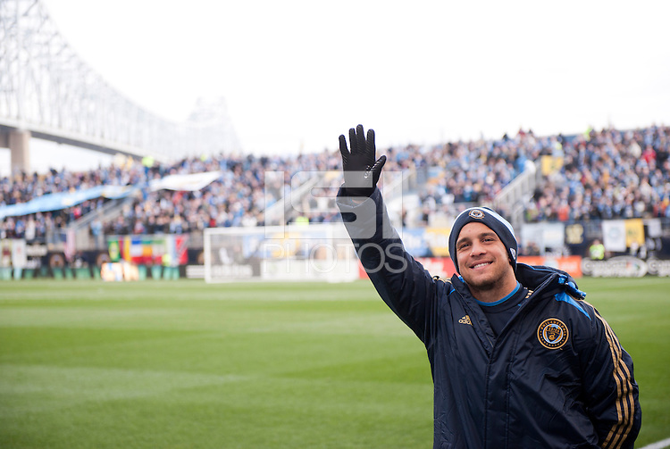 Danny Cruz.   Sporting Kansas City defeated Philadelphia Union, 3-1. at PPL Park in Chester, PA.
