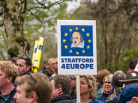 London, UK - March 23 2019: the peoples show her flag and banner during the demonstration the people Brexit march for people's vote protest. Photo Adamo Di Loreto/BuenaVista*photo