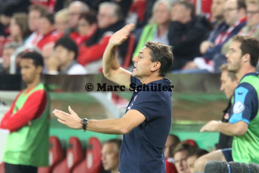 Co-Trainer Arno Michels (Mainz)- 1. FSV Mainz 05 vs. 1. FC Köln, Coface Arena, 2. Runde DFB-Pokal