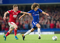 Ethan Ampadu of Chelsea in action, Carabao Cup, Third Round, Chelsea v Nottingham Forrest, Stamford Bridge, London, United Kingdom, 20th  September 2017