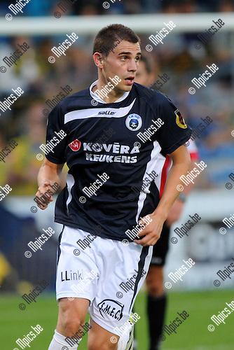 2012-08-25 / Voetbal / seizoen 2012-2013 /  KSK Heist / Simon Vermeiren..Foto: Mpics.be