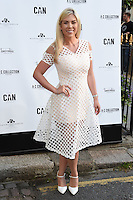 Frankie Essex<br /> arrives for the Amy Childs Summer Collection show at Beach Blanket Babylon, Notting Hill, London.<br /> <br /> <br /> ©Ash Knotek  D3129  06/06/2016