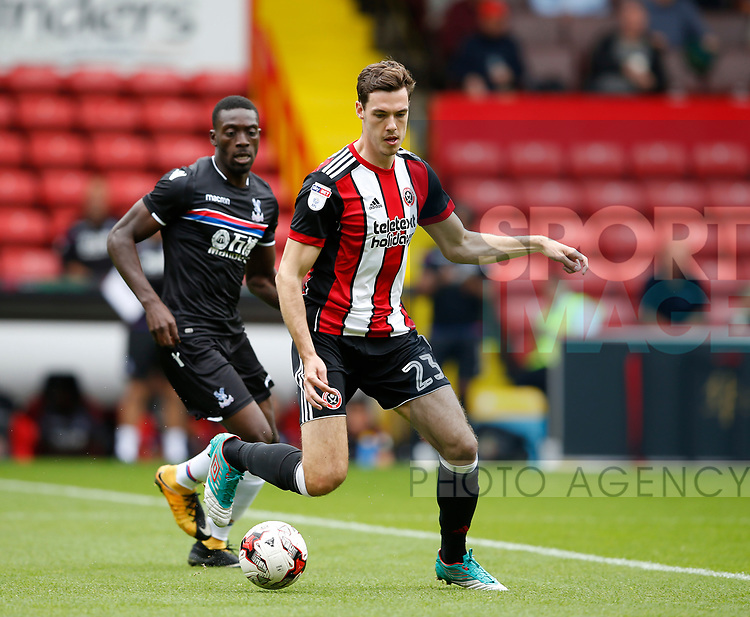 during the ProBen Heneghan of Sheffield Utd during the Professional Development U23 match at Bramall Lane, Sheffield. Picture date 4th September 2017. Picture credit should read: Simon Bellis/Sportimage