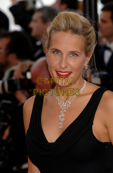 "ALYONA SIDORENKO.""Over The Hedge"" premiere.59th International Cannes Film Festival, France.21st May 2006.Ref: PL.headshot portrait necklace red lipstick.www.capitalpictures.com.sales@capitalpictures.com.©Phil Loftus/Capital Pictures"